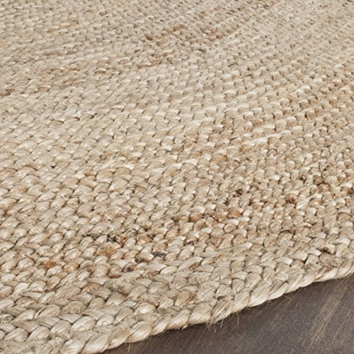Safavieh Cape Cod Collection CAP252A Hand Woven Jute Area Rug 3 X 5 Oval Tural 0 1
