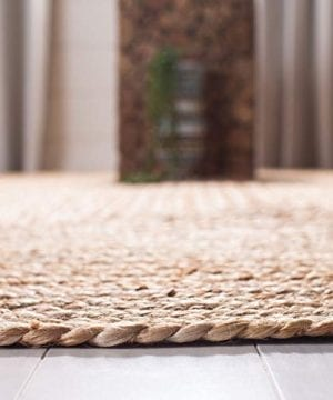 Safavieh Cape Cod Collection CAP252A Hand Woven Jute Area Rug 3 X 5 Oval Tural 0 2 300x360