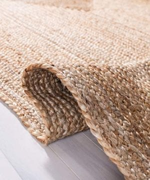 Safavieh Cape Cod Collection CAP252A Hand Woven Jute Area Rug 3 X 5 Oval Tural 0 3 300x360