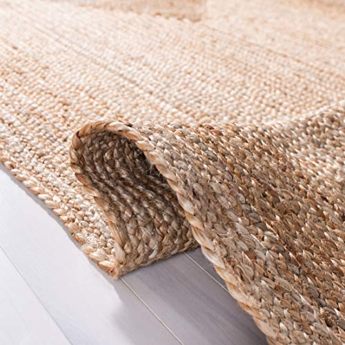 Safavieh Cape Cod Collection CAP252A Hand Woven Jute Area Rug 3 X 5 Oval Tural 0 3