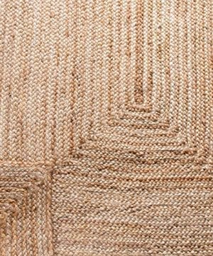 Safavieh Cape Cod Collection CAP252A Hand Woven Jute Area Rug 3 X 5 Oval Tural 0 4 300x360