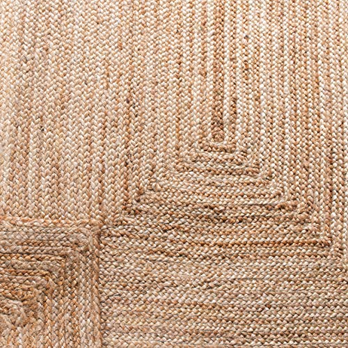 Safavieh Cape Cod Collection CAP252A Hand Woven Jute Area Rug 3 X 5 Oval Tural 0 4
