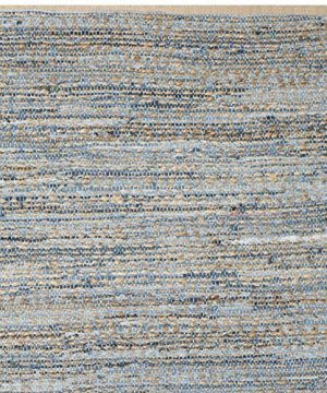 Safavieh Cape Cod Collection CAP351A Hand Woven Flatweave Geometric Diamond Natural And Blue Jute Area Rug 8 X 10 0 2 300x360