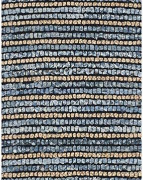 Safavieh Cape Cod Collection CAP363A Hand Woven Blue And Natural Jute And Cotton Area Rug 6 X 9 0 287x360