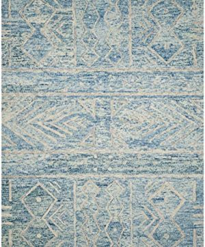 Safavieh Chatham Collection CHT764B Handmade Wool Area Rug 8 X 10 BlueIvory 0 0 300x360