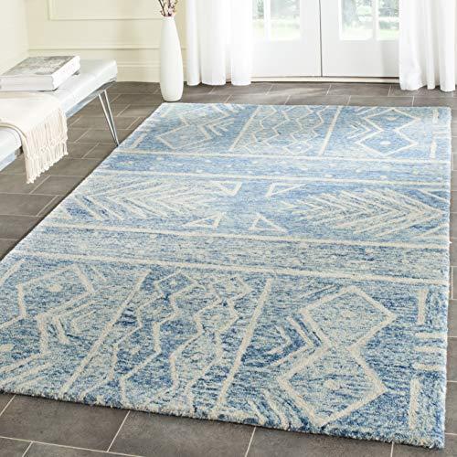 Safavieh Chatham Collection CHT764B Handmade Wool Area Rug 8 X 10 BlueIvory 0 2