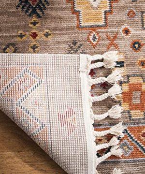 Safavieh Farmhouse Collection FMH848E Area Rug 3 X 5 TaupeOrange 0 0 300x360