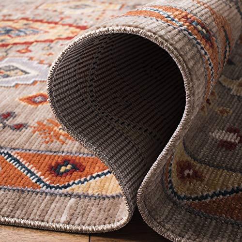 Safavieh Farmhouse Collection FMH848E Area Rug 3 X 5 TaupeOrange 0 4