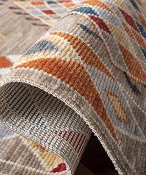Safavieh Farmhouse Collection FMH852E Area Rug 8 X 10 TaupeNavy 0 4 300x360