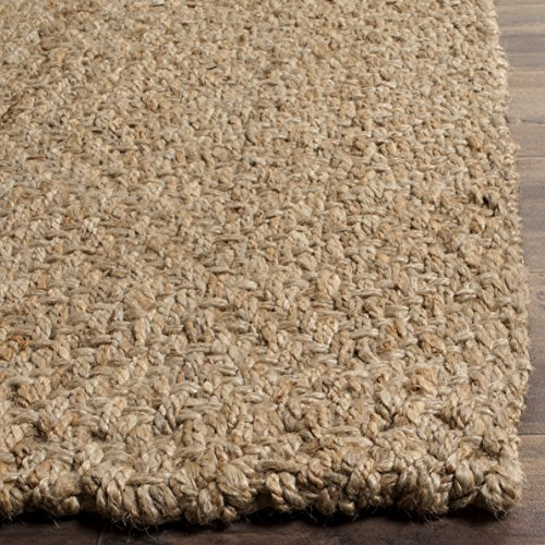 Safavieh Fiber Collection NF181A Hand Woven Jute Area Rug 4 X 6 NaturalNatural 0 0