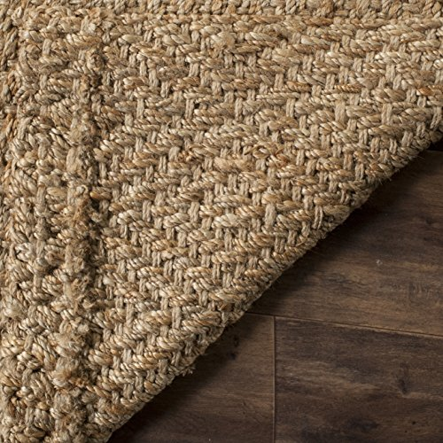 Safavieh Fiber Collection NF181A Hand Woven Jute Area Rug 4 X 6 NaturalNatural 0 1