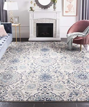Safavieh Madison Collection MAD600C Bohemian Chic Glam Paisley Area Rug 4 X 6 CreamLight Grey 0 300x360