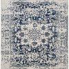 Safavieh Madison Collection MAD603D Vintage Snowflake Medallion Distressed Area Rug 8 X 10 CreamNavy 0 100x100