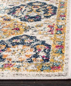Safavieh Madison Collection MAD611B Bohemian Chic Vintage Distressed Area Rug 3 X 5 CreamMulti 0 3 300x360