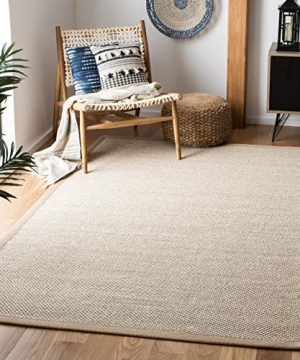 Safavieh Natural Fiber Collection NF143B Marble And Linen Sisal Area Rug 8 X 10 0 300x360
