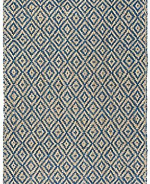 Safavieh Natural Fiber Collection NF266D Hand Woven Tropical Blue And Natural Jute Area Rug 5 X 8 0 2 294x360
