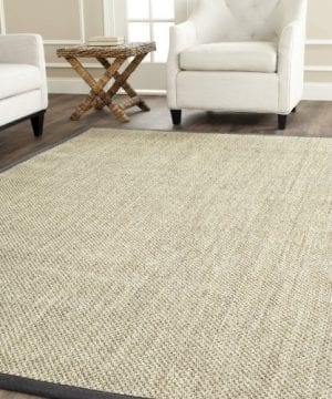 Safavieh Natural Fiber Collection NF443B Tiger Eye Marble And Grey Sisal Area Rug 3 X 5 0 300x360