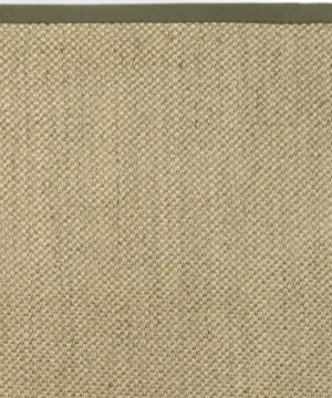 Safavieh Natural Fiber Collection NF443C Tiger Eye Natural And Green Sisal Area Rug 6 X 9 0 3 300x360