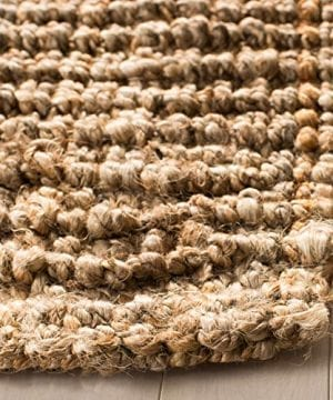 Safavieh Natural Fiber Collection NF447A Hand Woven Chunky Textured Jute Area Rug 3 X 5 0 2 300x360