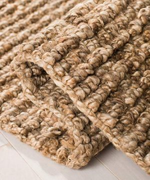 Safavieh Natural Fiber Collection NF447A Hand Woven Chunky Textured Jute Area Rug 3 X 5 0 3 300x360
