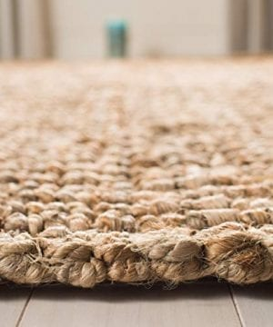 Safavieh Natural Fiber Collection NF447A Hand Woven Chunky Textured Jute Area Rug 3 X 5 0 4 300x360