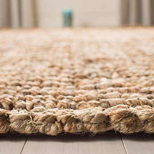Safavieh Natural Fiber Collection NF447A Hand Woven Chunky Textured Jute Area Rug 3 X 5 0 4