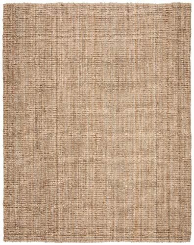 Safavieh Natural Fiber Collection NF447A Hand Woven Chunky Textured Jute Area Rug 4 X 6 0 0