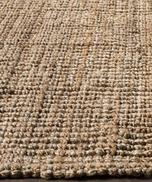 Safavieh Natural Fiber Collection NF447A Hand Woven Chunky Textured Jute Area Rug 5 X 8 0 2 300x360