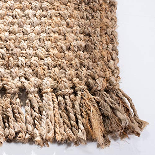 Safavieh Natural Fiber Collection NF467A Hand Woven Jute Area Rug 4 X 6 0 1