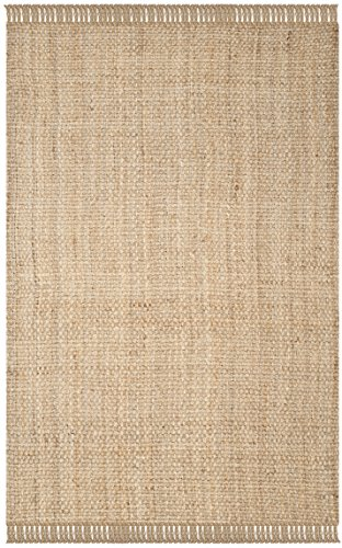 Safavieh Natural Fiber Collection NF467A Hand Woven Jute Area Rug 5 X 8 0 0