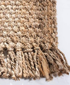 Safavieh Natural Fiber Collection NF467A Hand Woven Jute Area Rug 5 X 8 0 1 300x360