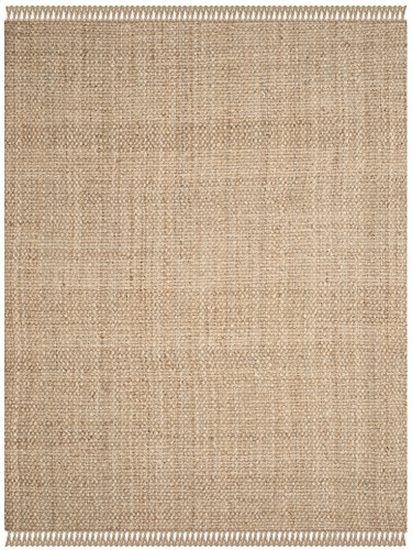 Safavieh Natural Fiber Collection NF467A Hand Woven Jute Area Rug 6 X 9 0