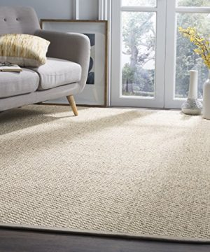 Safavieh Natural Fiber Collection NF525C Marble Sisal Area Rug 6 X 9 0 300x360
