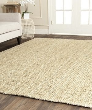 Safavieh Natural Fiber Collection NF730A Hand Woven Ivory Jute Area Rug 3 X 5 0 300x360