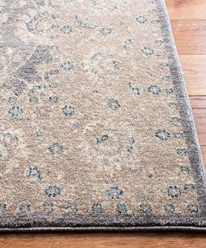 Safavieh Sofia Collection SOF330B Vintage Light Grey And Beige Distressed Area Rug 3 X 5 0 1 300x360