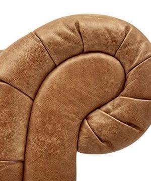 Stone Beam Bradbury Chesterfield Tufted Leather Sofa Couch 929W Cognac 0 0 300x360