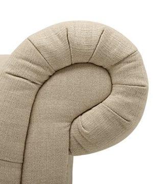 Stone Beam Bradbury Chesterfield Tufted Loveseat Sofa Couch 787W Hemp 0 0 300x360