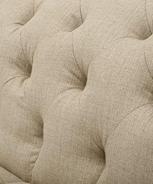 Stone Beam Bradbury Chesterfield Tufted Loveseat Sofa Couch 787W Hemp 0 1 300x360