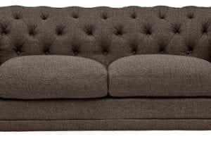 Stone Beam Bradbury Chesterfield Tufted Loveseat Sofa Couch 787W Warm Grey 0 0 300x220