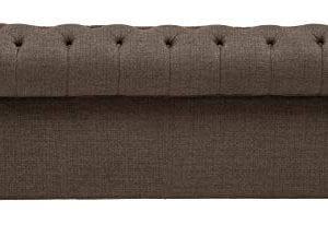 Stone Beam Bradbury Chesterfield Tufted Loveseat Sofa Couch 787W Warm Grey 0 1 300x216