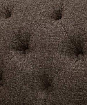 Stone Beam Bradbury Chesterfield Tufted Loveseat Sofa Couch 787W Warm Grey 0 4 300x360
