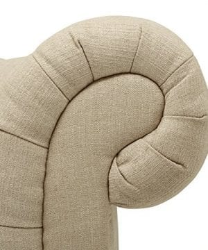 Stone Beam Bradbury Chesterfield Tufted Sofa Couch 929W Hemp 0 1 300x360