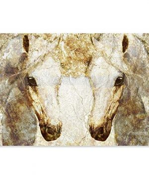 The Oliver Gal Artist Co Animals Wall Art Canvas Prints Gold Stallions Home Dcor 0 300x360