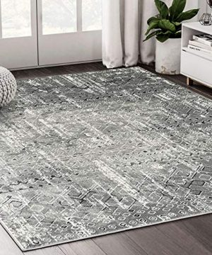 Traditional Grey Tribal Distressed 6 X 9 Turkish Area Rug By Abani Rugs Urbana Collection Vintage Style Design Accent Rug 0 300x360