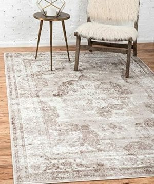 Unique Loom Sofia Traditional Area Rug 3 3 X 5 3 Beige 0 300x360