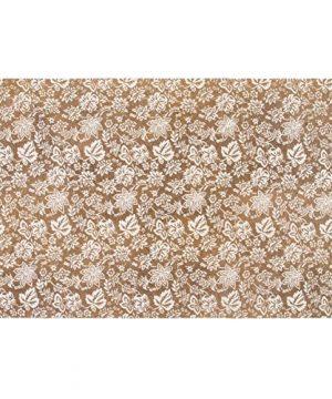 VHC Brands Farmhouse Flooring Lilianna Tan Rug 6 X 9 Khaki 0 300x360