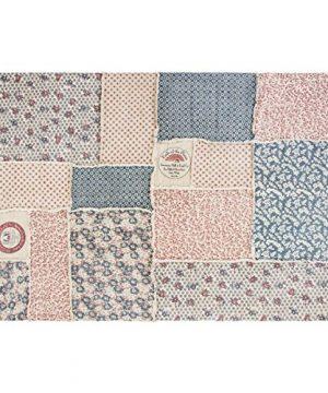 VHC Brands Farmhouse Flooring Millie White Patchwork Rug 6 X 9 0 300x360