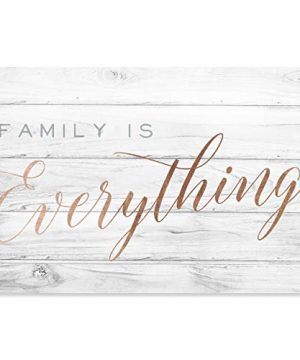 Wynwood Studio Typography And Quotes Wall Art Canvas Prints Family Is Everything Home Dcor 30 X 20 Bronze Gray 0 300x360