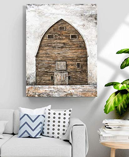 Yihui Arts Farmhouse Rustic Wall Decor Canvas Wall Art Painting Pictures For Kids Room Multi D 28Wx20L 0 1