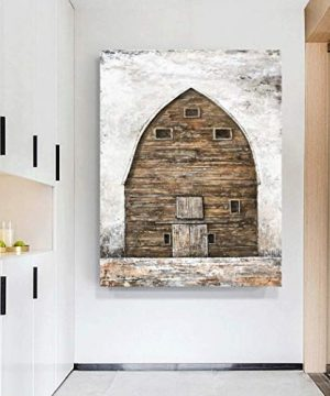 Yihui Arts Farmhouse Rustic Wall Decor Canvas Wall Art Painting Pictures For Kids Room Multi D 28Wx20L 0 2 300x360